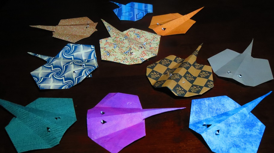 origami whale printable instructions