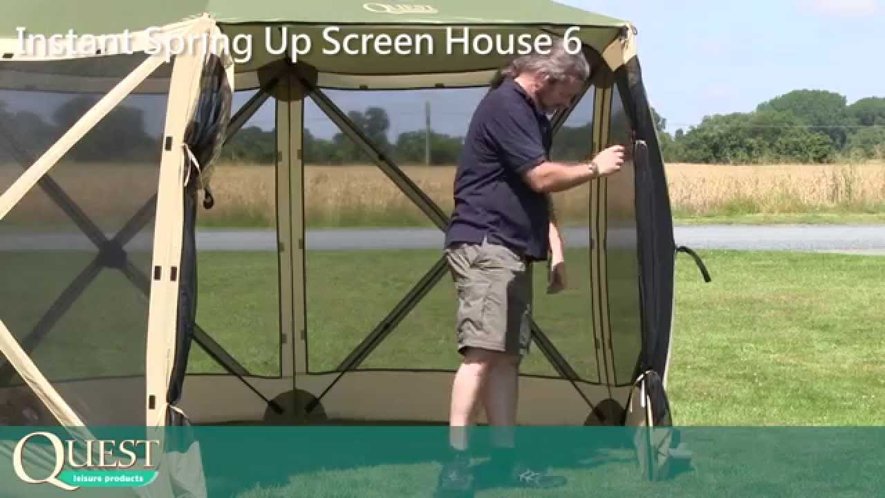 quest 10x10 canopy take down instructions