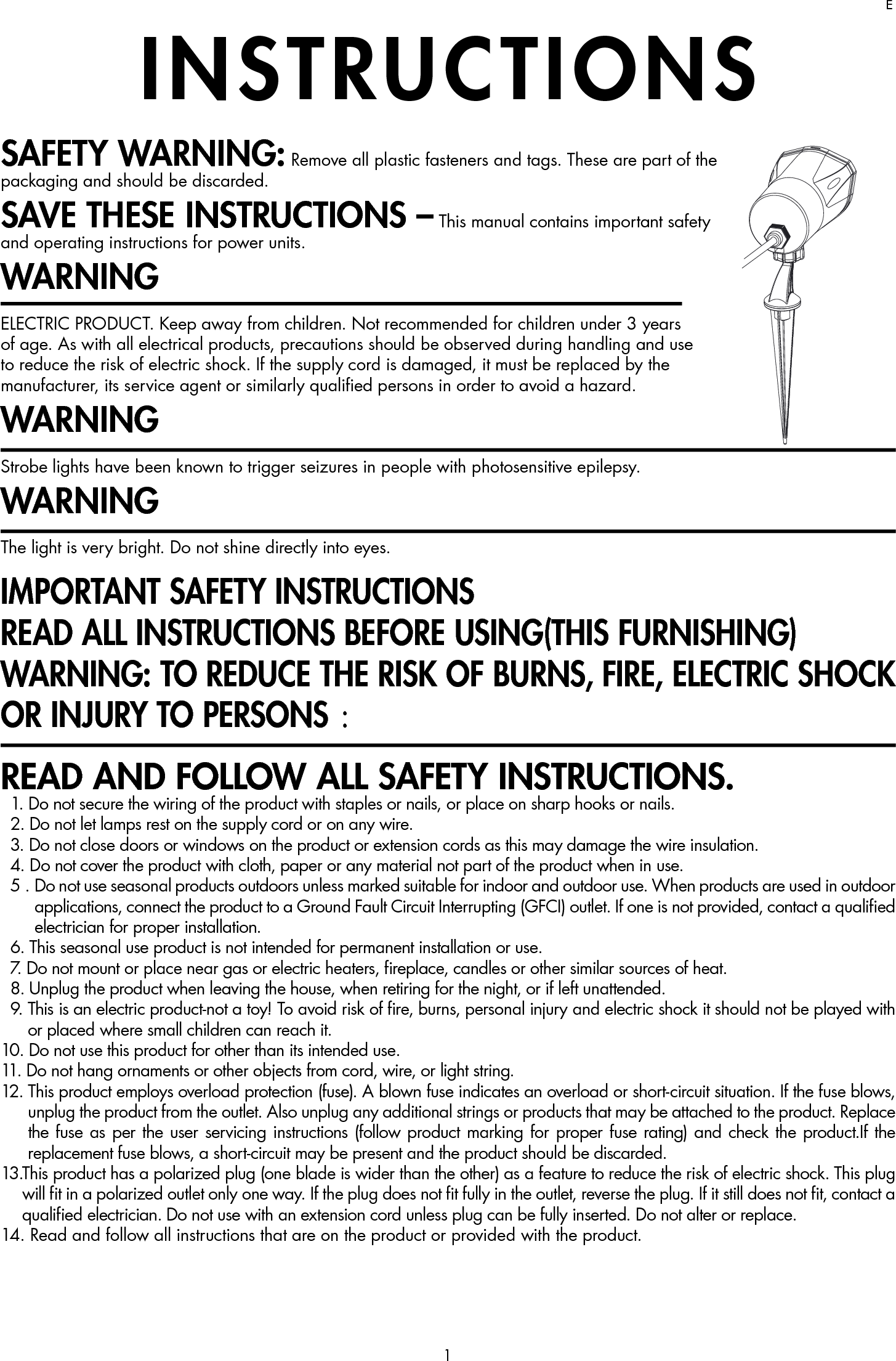 all in one instructions remote