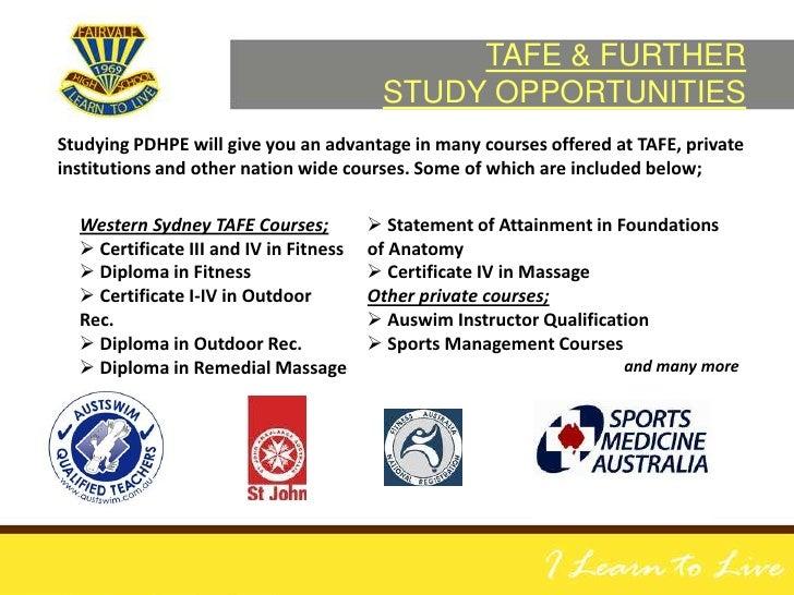 tafe cert iv fitness instruct children