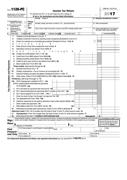 schedule m 3 instructions 1120