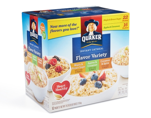quaker instant oatmeal packet instructions