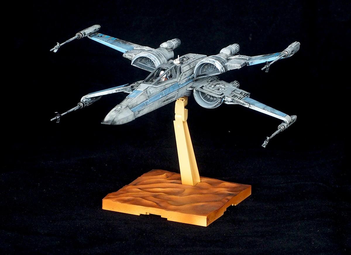bandai x wing starfighter 1 72 instructions