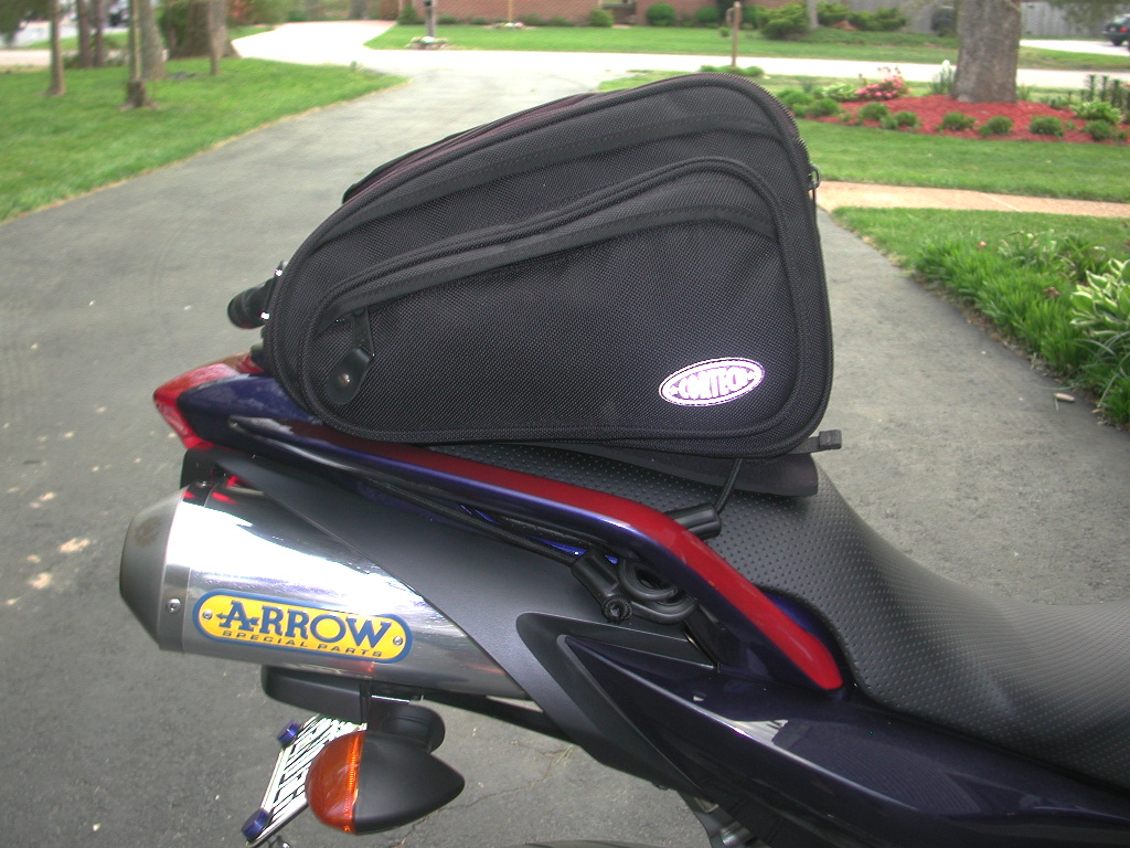 cortech sport tail bag mounting instructions