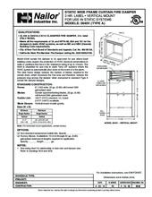 nailor fire damper installation instructions