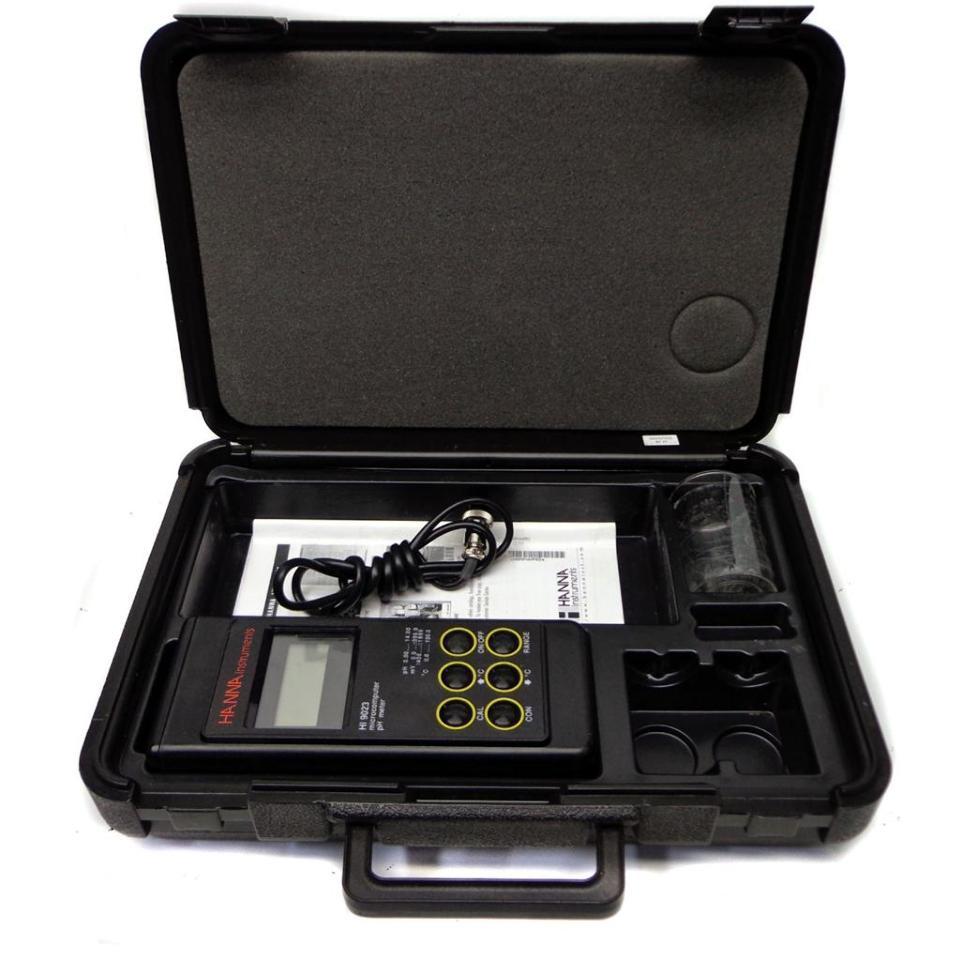 hanna ph meter instruction manual