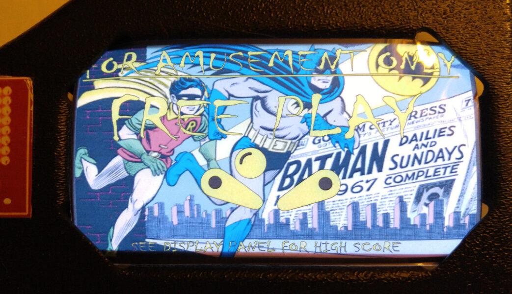 data east batman instruction card