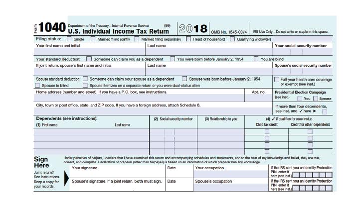 federal tax return 1040ez instructions 2015