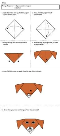 written instructions to make a paper boat