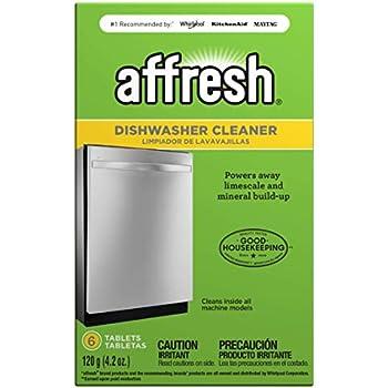 glisten dishwasher cleaner instructions