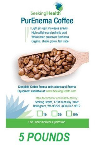 seeking health coffee enema instructions