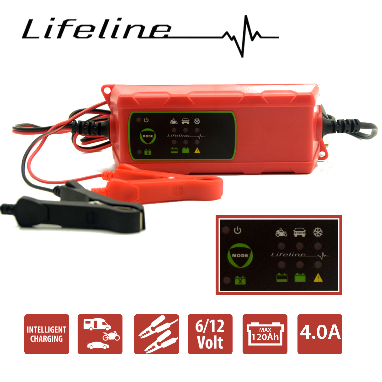sparkrite battery charger instructions