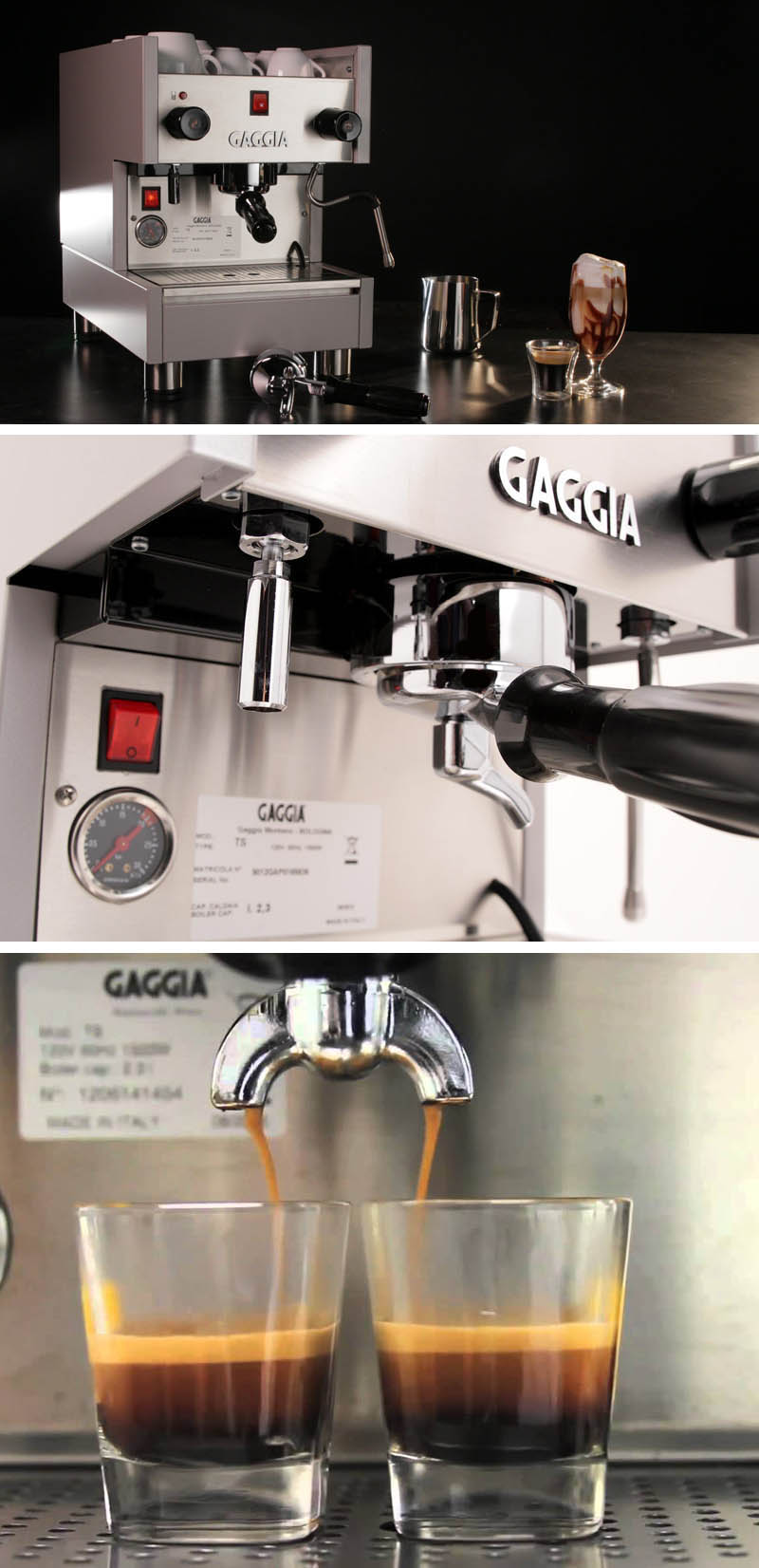 gaggia coffee maker instructions