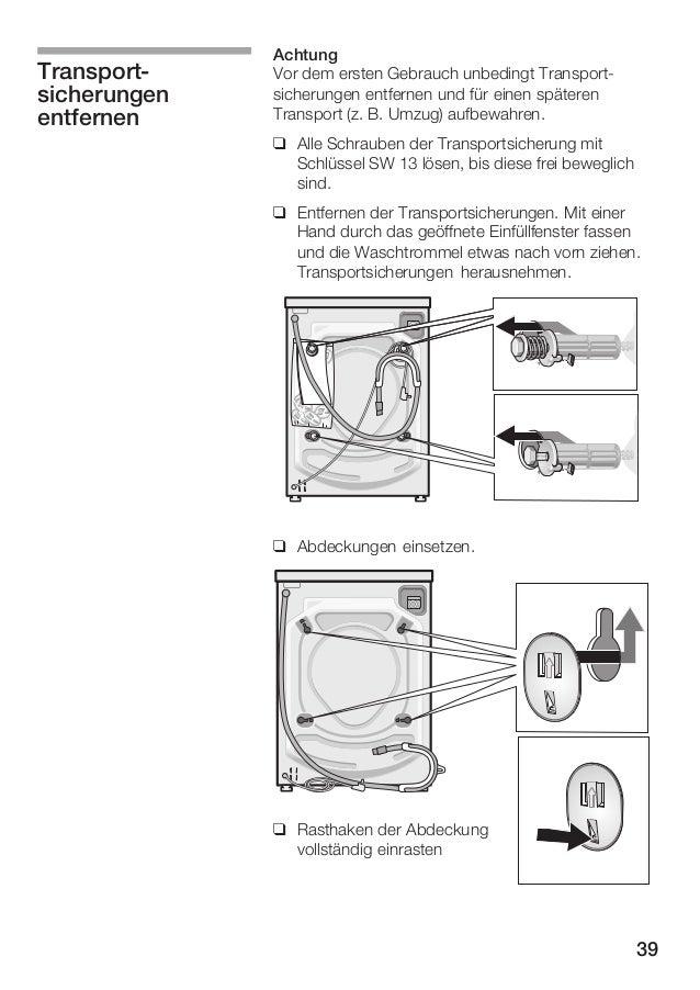 bosch logixx 7 instruction manual