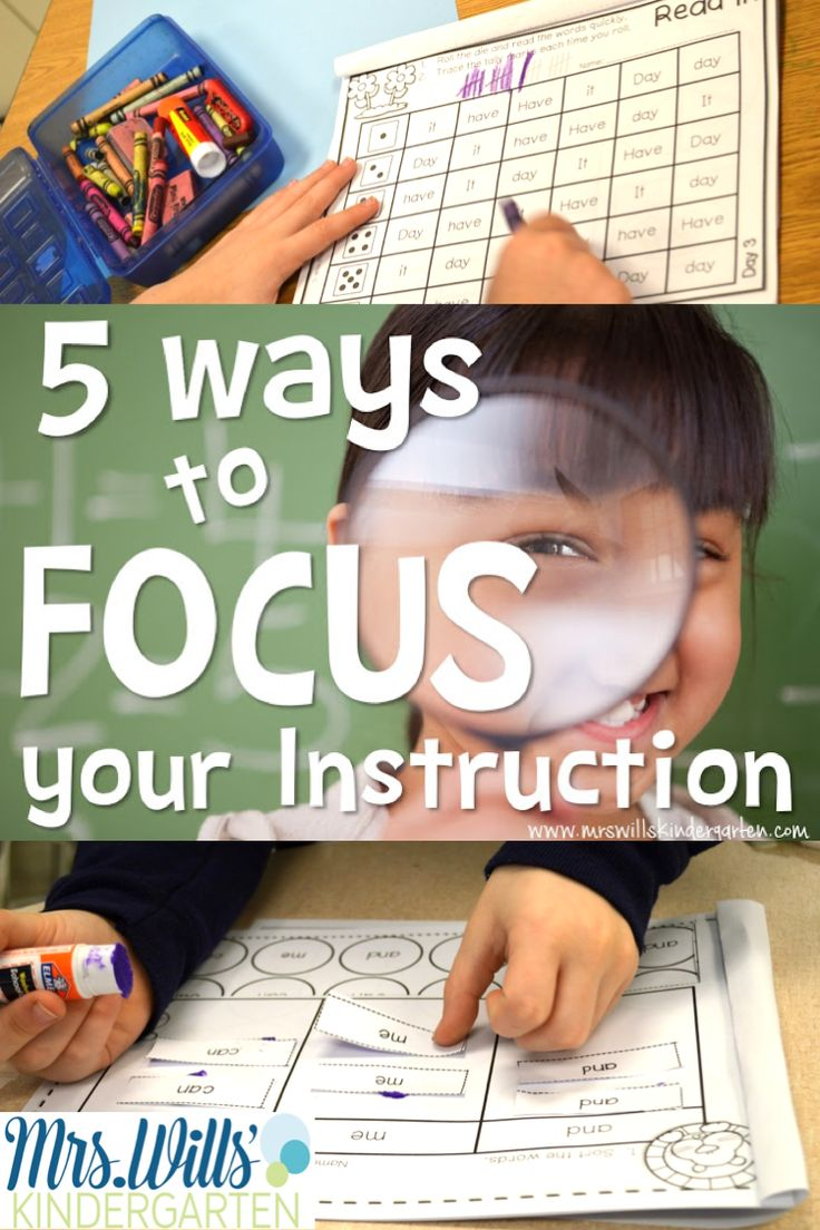 instructional strategies in the preschool classroom