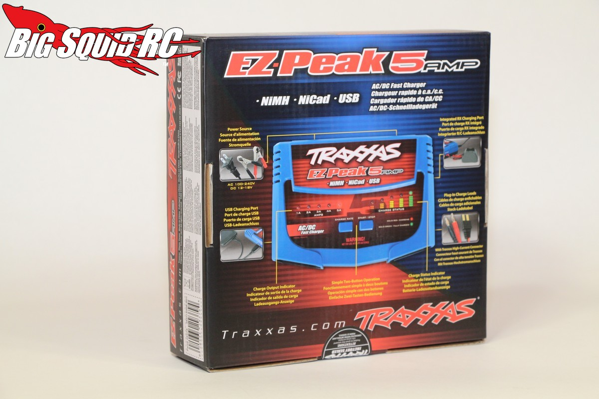 traxxas ez peak plus charger instructions