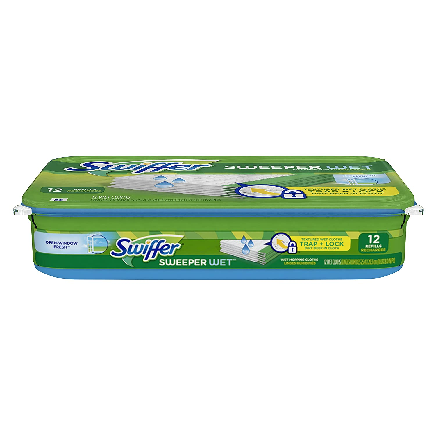 swiffer wet mopping refills instructions