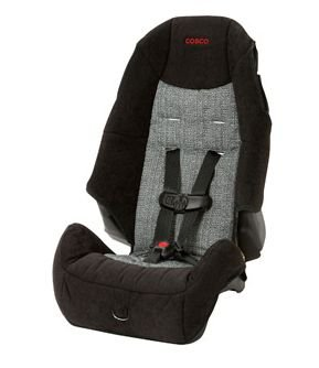 cosco high back booster car seat instructions