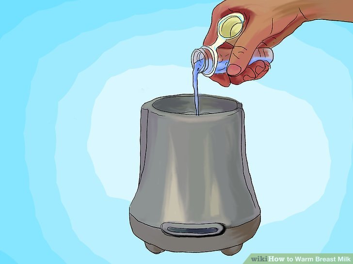 avent bottle warmer instructions how much water