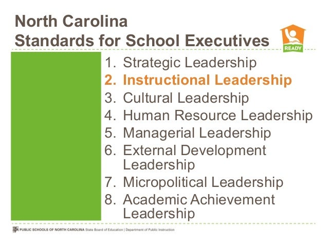 instructional leadership theory ppt