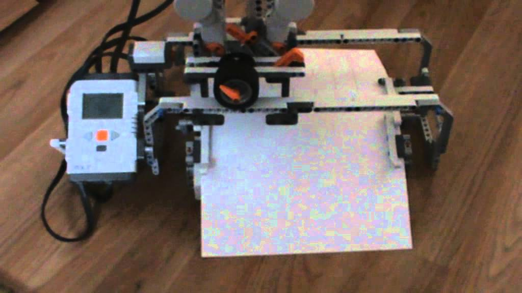 lego mindstorms banner printer instructions