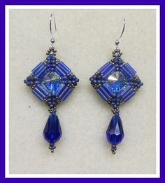 bugle bead earrings instructions