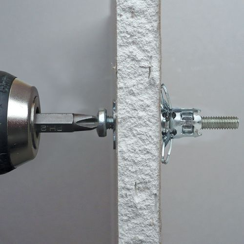 crown bolt hollow wall anchors instructions