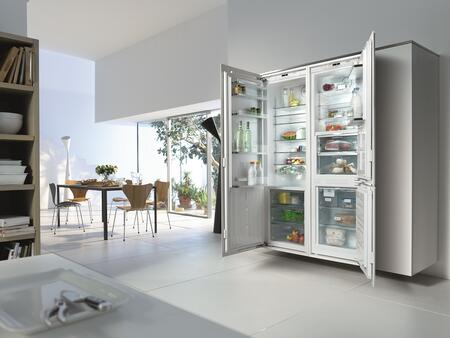miele integrated fridge installation instructions