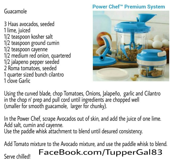 tupperware happy chopper instructions