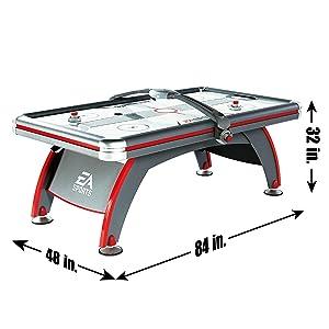 espn air hockey table assembly instructions