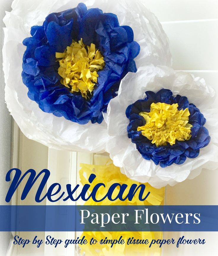 mexican paper flowers instructions