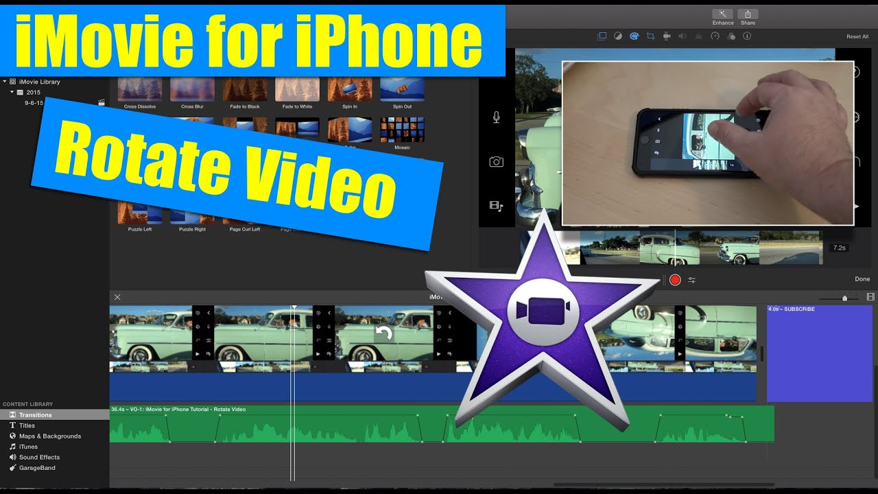 imovie instructions for iphone