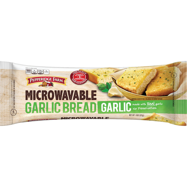 kroger frozen garlic bread instructions