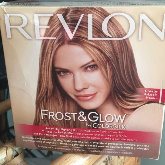 revlon frost and glow honey highlighting kit instructions