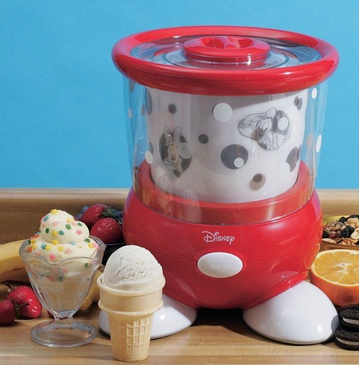 disney ice cream maker instructions