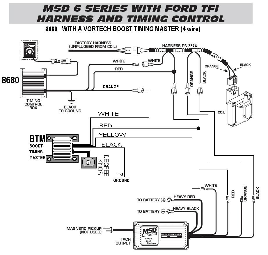 msd street fire spark plug wire instructions