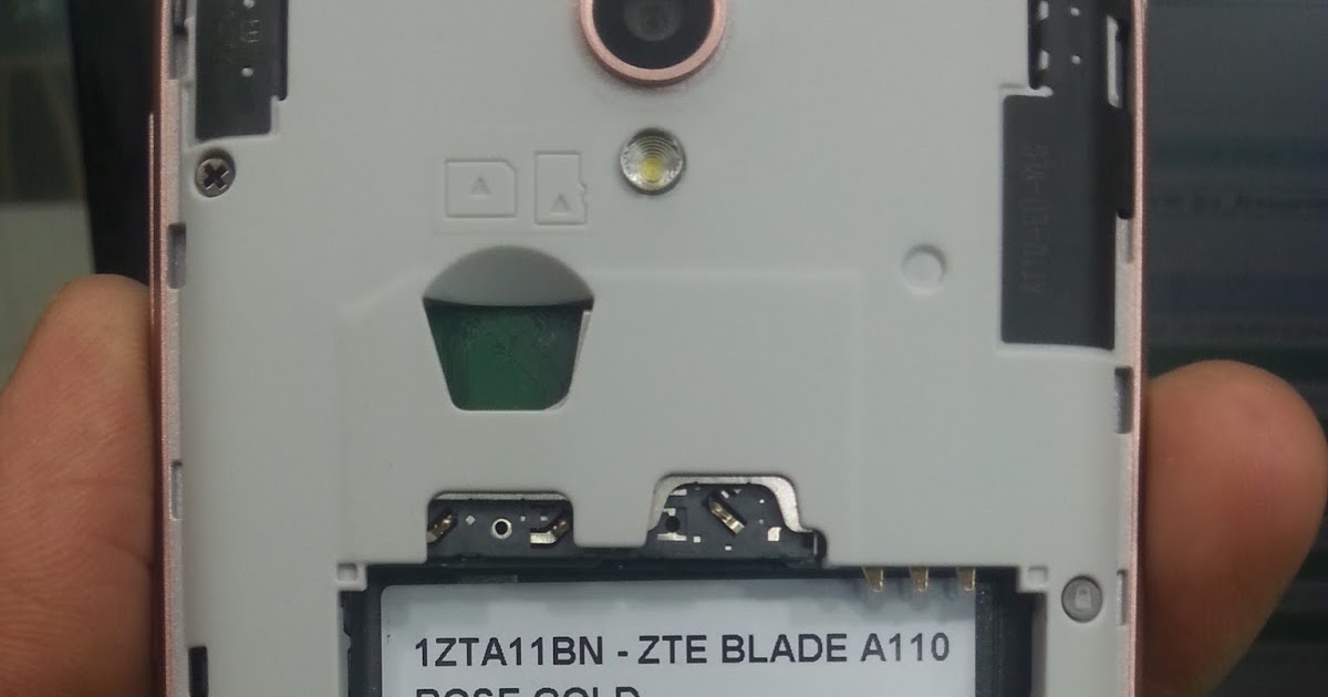zte blade a110 instructions