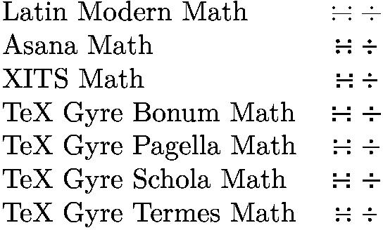 asana math font instruction