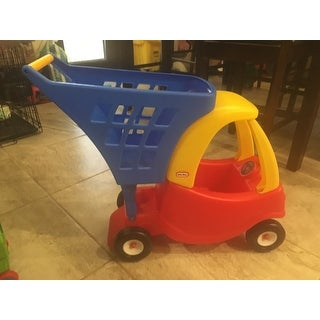 little tikes cozy coupe shopping cart instructions