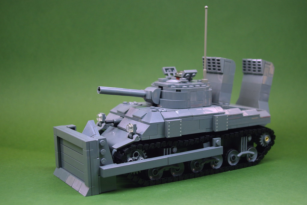 brickmania m4a3e8 sherman instruction
