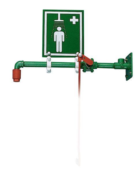 emergency safety shower instructions