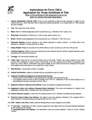 form 130 u instructions