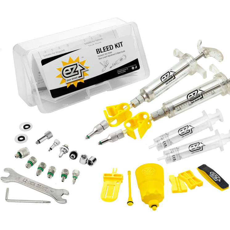 avid brake bleed kit instructions