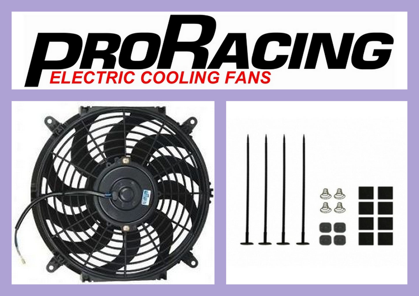 electric radiator fan mounting kit instructions