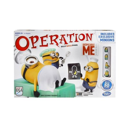 despicable me operation silly skill game instructions