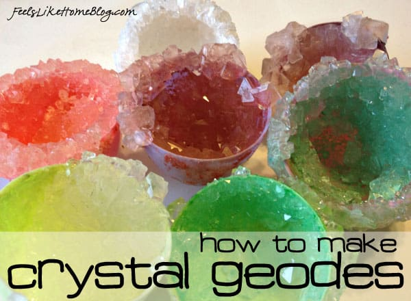 crystal growing experiment instructions