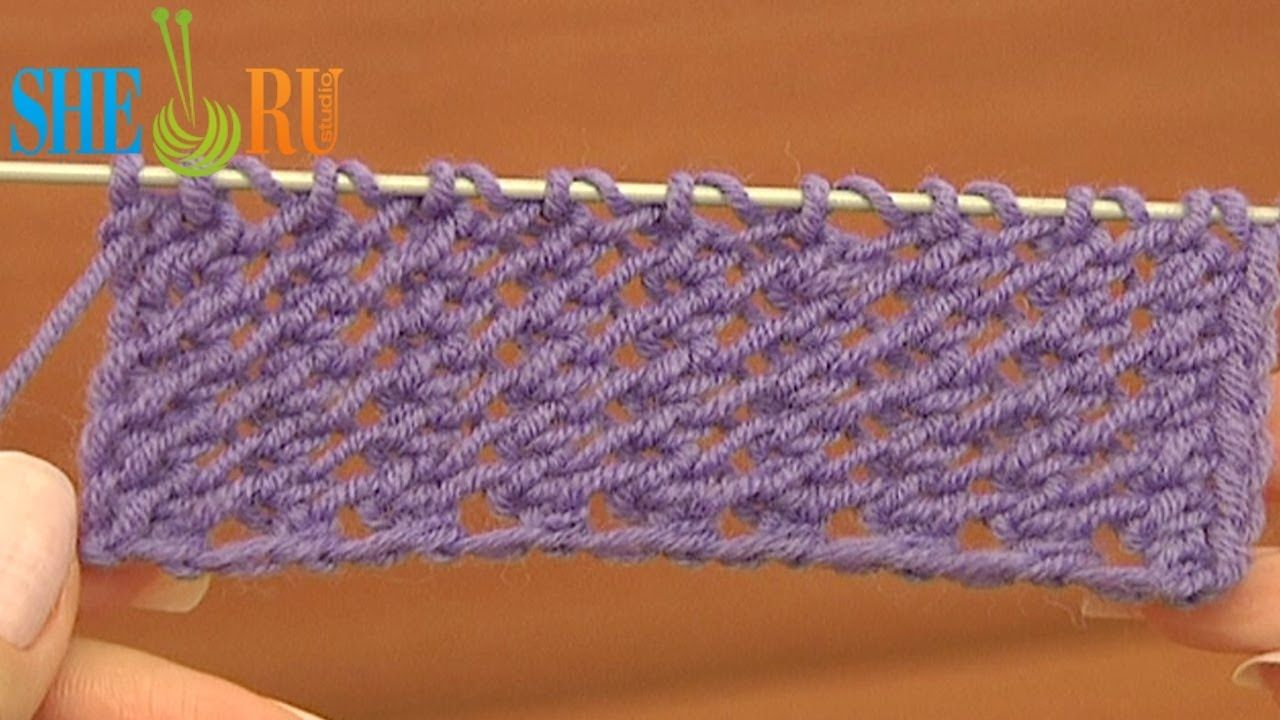 easy knit purl instructions