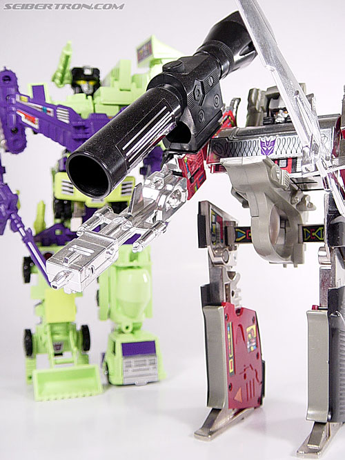 transformers g1 devastator instructions