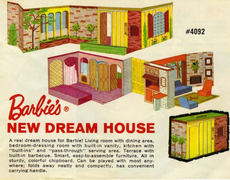 barbie dream house online instructions