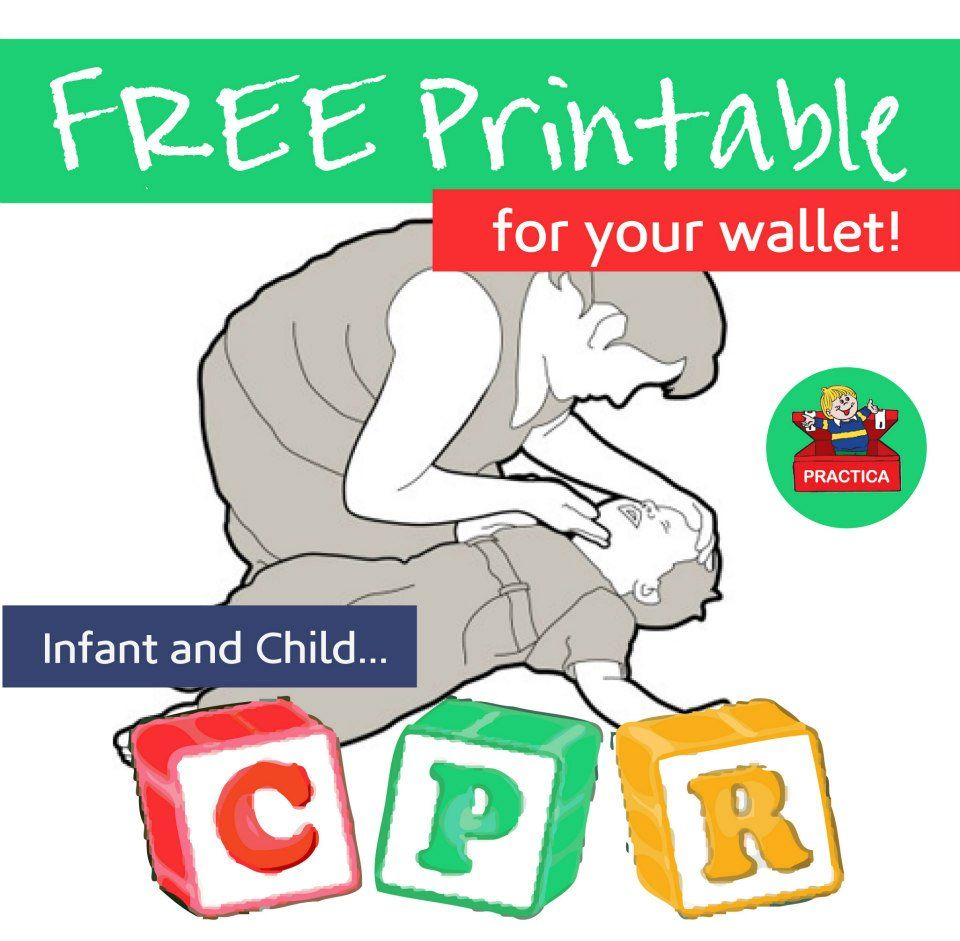 infant child cpr instructions